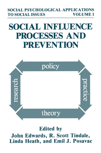 Social Influence Processes and Prevention ebook by