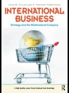 International Business - Strategy and the Multinational Company ebook by John B. Cullen, K. Praveen Parboteeah