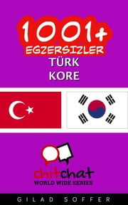 1001+ Egzersizler Türk - Kore ebook by Gilad Soffer