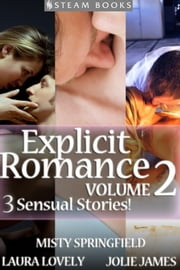 EXPLICIT ROMANCE Volume 2 - 3 Sensual Stories! ebook by Laura Lovely,Jolie James,Misty Springfield