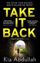 Take It Back ebook by Kia Abdullah