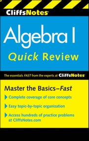 CliffsNotes Algebra I Quick Review, 2nd Edition ebook by Jerry Bobrow