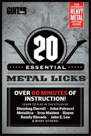 Guitar World Lessons: 20 Essential Metal Guitar Licks ebook by Guitar World magazine