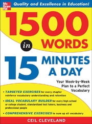 1500 Words in 15 Minutes a Day ebook by Ceil Cleveland