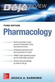 Deja Review: Pharmacology, Third Edition ebook by Jessica Gleason