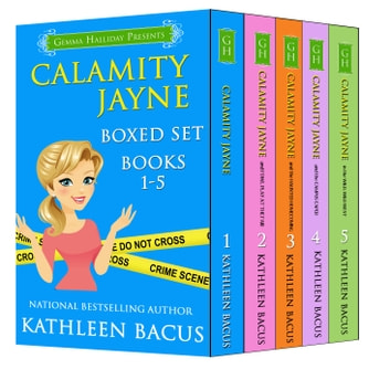 Calamity Jayne Mysteries Boxed Set - books 1-5 ebook by Kathleen Bacus