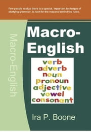 Macro-English ebook by Ira P. Boone
