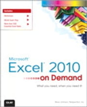Microsoft Excel 2010 On Demand ebook by Steve Johnson,Perspection Inc.