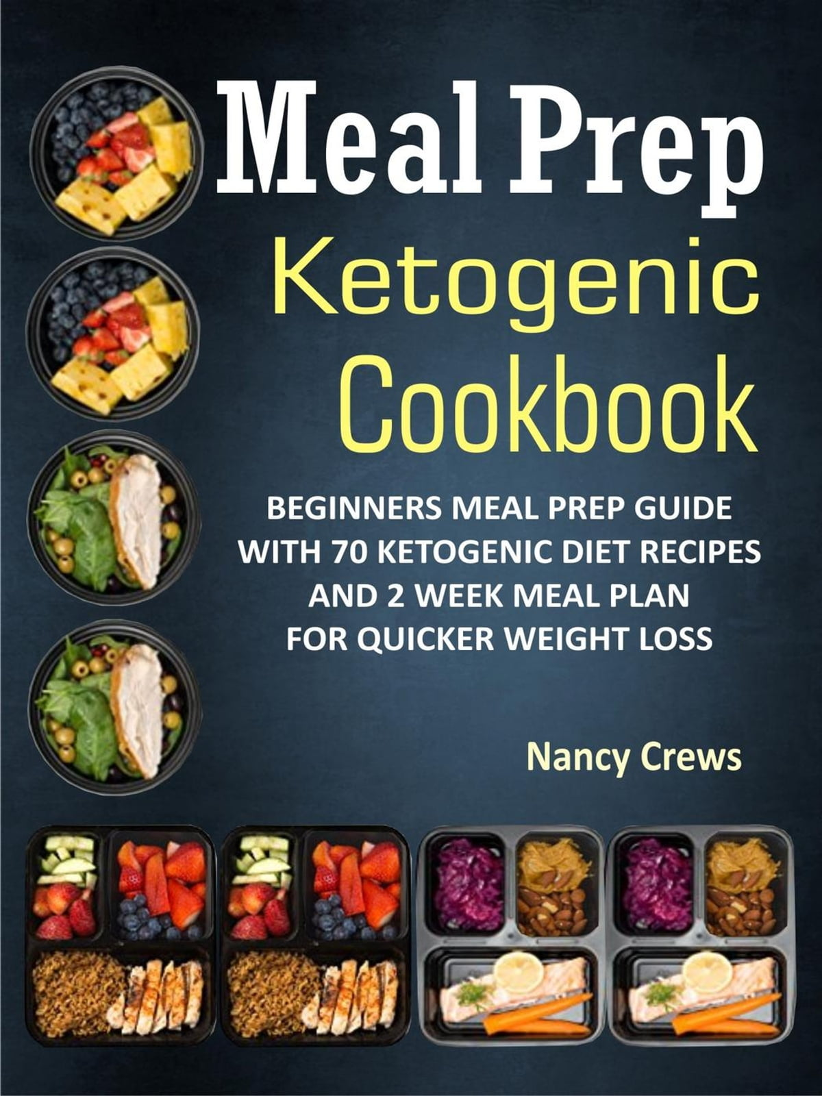 Meal Prep Ketogenic Cookbook Beginners Meal Prep Guide With 70 Ketogenic Diet Recipes And 2 Week Meal Plan For Quicker Weight Loss Rakuten Kobo