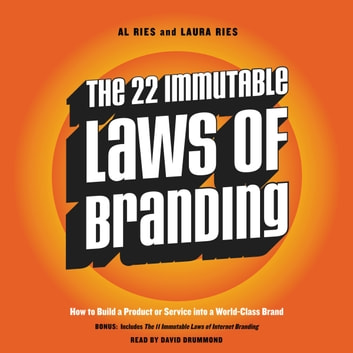 The 22 Immutable Laws of Branding audiobook by Al Ries,Laura Ries