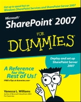 Microsoft SharePoint 2007 For Dummies ebook by Vanessa L. Williams