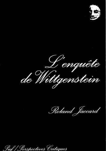 L'enquête de Wittgenstein ebook by Roland Jaccard