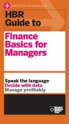 HBR Guide to Finance Basics for Managers (HBR Guide Series) ebook by Harvard Business Review