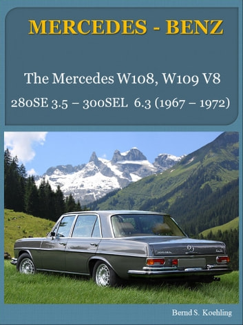 Mercedes benz w108 w109 v8 with buyers guide and chassis number mercedes benz w108 w109 v8 with buyers guide and chassis numberdata card fandeluxe Images