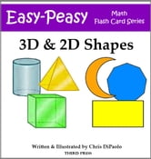 3D & 2D Shape Flash Cards ebook by Chris DiPaolo