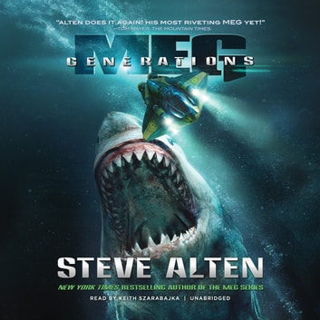 Meg: Generations audiobook by Steve Alten