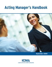 Acting Manager's Handbook ebook by Catherine  Tuck  Parrish,Larry  S.  Mitchell,V.  Eugene  Miller