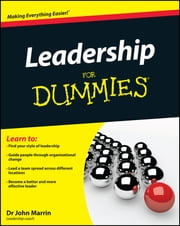 Leadership For Dummies ebook by John Marrin