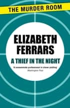 A Thief in the Night ebook by Elizabeth Ferrars