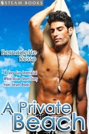 A Private Beach - Sexy Gay Interracial M/M White-on-Asian Erotica from Steam Books ebook by Bernadette Russo,Steam Books