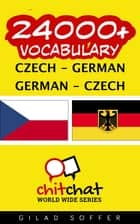 24000+ Vocabulary Czech - German eBook by Gilad Soffer