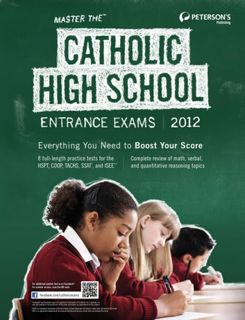 Master the Catholic High School Entrance Exams ebook by Peterson's