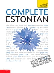 Complete Estonian Beginner to Intermediate Book and Audio Course - Learn to read, write, speak and understand a new language with Teach Yourself ebook by Mare Kitsnik,Leelo Kingisepp
