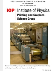Issue 8 Printing and Graphics Science Group Newsletter ebook by Anna Fricker