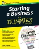 Starting a Business For Dummies - UK ebook by Colin Barrow
