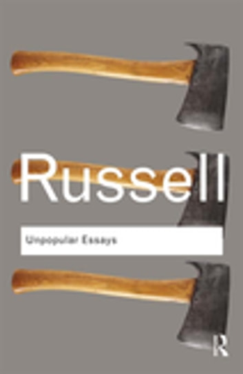 Unpopular essays kindle edition by bertrand russell. Politics.