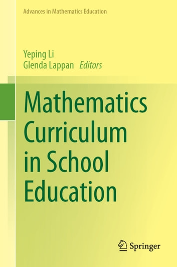 Mathematics Curriculum in School Education ebook by