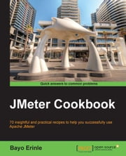 JMeter Cookbook ebook by Bayo Erinle