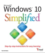 Windows 10 Simplified ebook by Paul McFedries