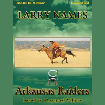 Arkansas Raiders audiobook by Larry Names