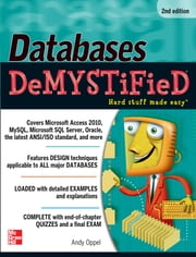 Databases DeMYSTiFieD, 2nd Edition ebook by Andy Oppel