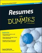 Resumes For Dummies ebook by Laura DeCarlo