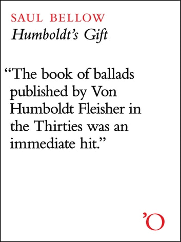 Humboldt's Gift ebook by Saul Bellow