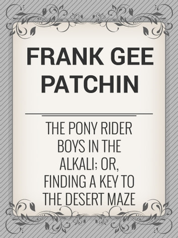 Free Kindle Books from the Pony Rider Boys Series