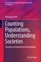 Counting Populations, Understanding Societies ebook by Véronique Petit