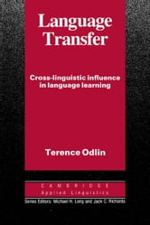 Language Transfer ebook by Odlin, Terence
