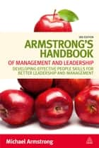 Armstrong's Handbook of Management and Leadership ebook by Michael Armstrong