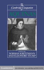 The Cambridge Companion to Aquinas ebook by Norman Kretzmann,Eleonore Stump