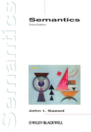 Semantics ebook by John I. Saeed