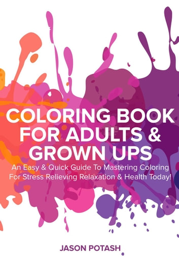 Easy Adult Coloring Books