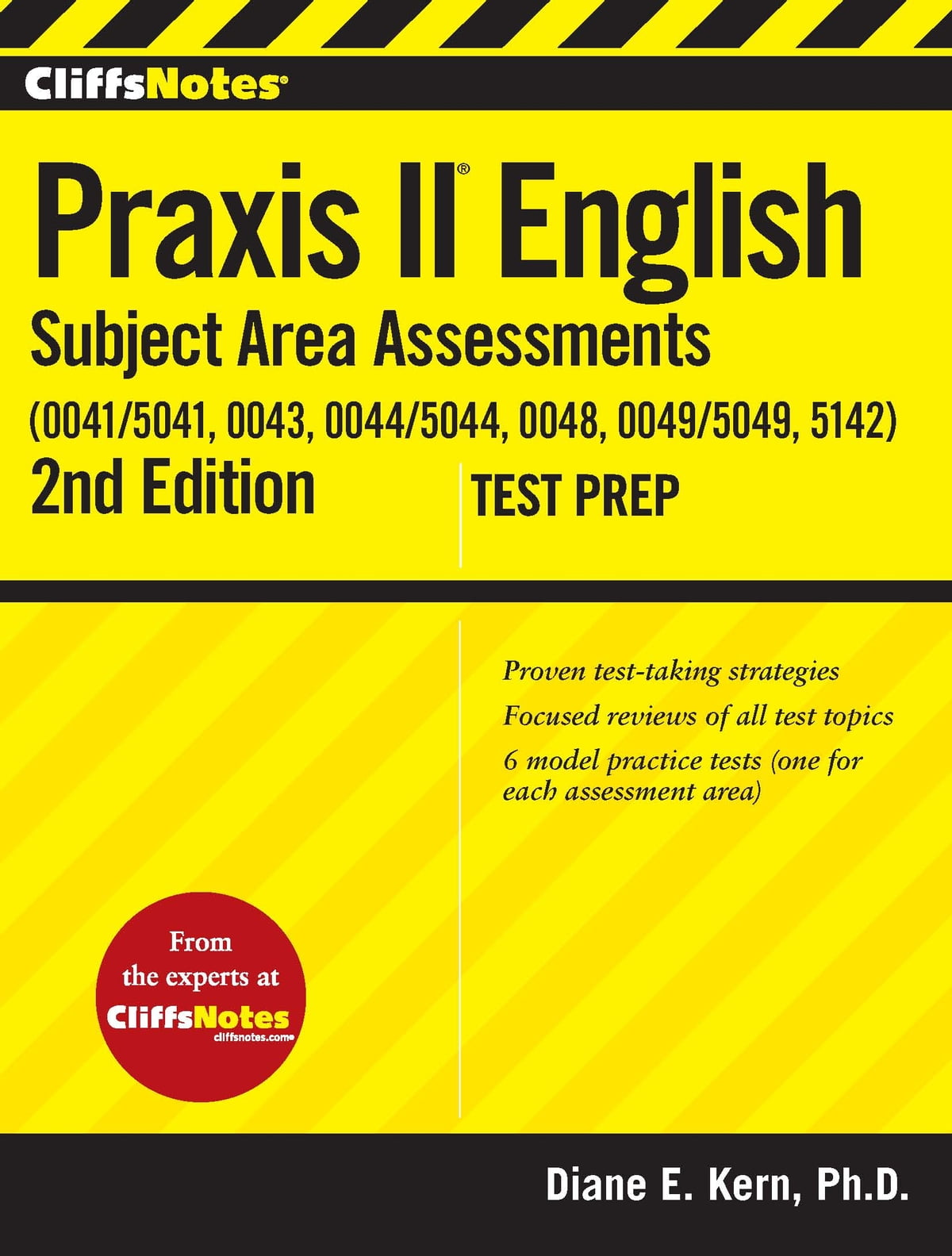 CliffsNotes Praxis II English Subject Area Assessments (0041/5041, 0043,  0044/5044, 0048, 0049/5049,5142) 2nd Edition eBook by Diane E Kern -  9780544183438 ...