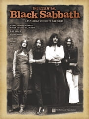 The Essential Black Sabbath (Songbook) - Easy Guitar with Riffs and Solos ebook by Black Sabbath