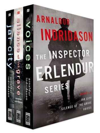 The Inspector Erlendur Series, Books 1-3 - Jar City, Silence of the Grave, Voices eBook by Arnaldur Indridason