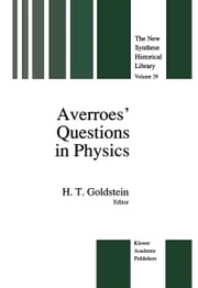 Averroes' Questions in Physics ebook by H. Goldstein