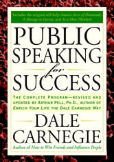 Public Speaking for Success ebook by Dale Carnegie