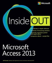 Microsoft Access 2013 Inside Out ebook by Jeff Conrad